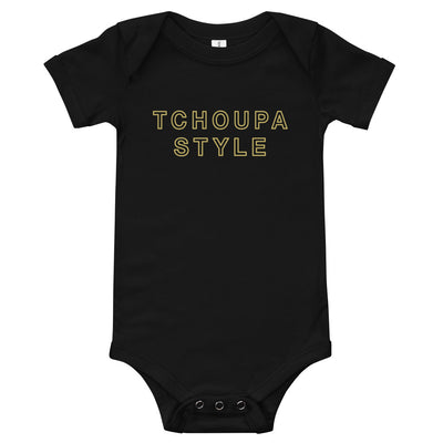TCHOUPA STYLE ™ 3M-6M Baby Onesie - NOLA T-shirt, New Orleans T-shirt