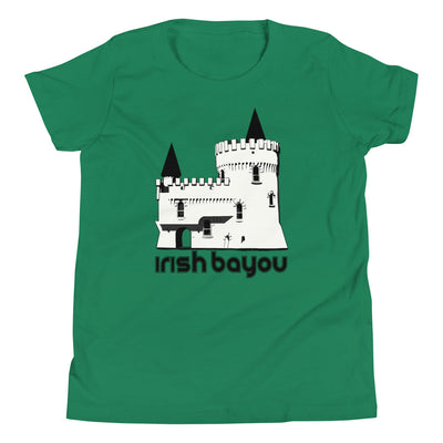 Irish Bayou Fisherman's Castle Youth Unisex T-Shirt - NOLA T-shirt, New Orleans T-shirt