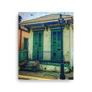 Chartres & Barracks Street Canvas - NOLA T-shirt, New Orleans T-shirt