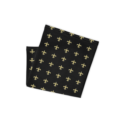 Fleur de Lis Neck and Mask Face Gaiter