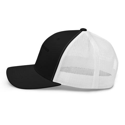 New Orleans Black Flag Trucker Hat