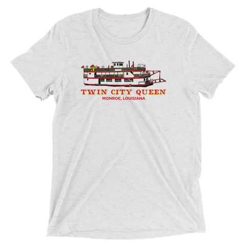 Twin City Queen Unisex Tri-blend T-shirt - NOLA REPUBLIC T-SHIRT CO.