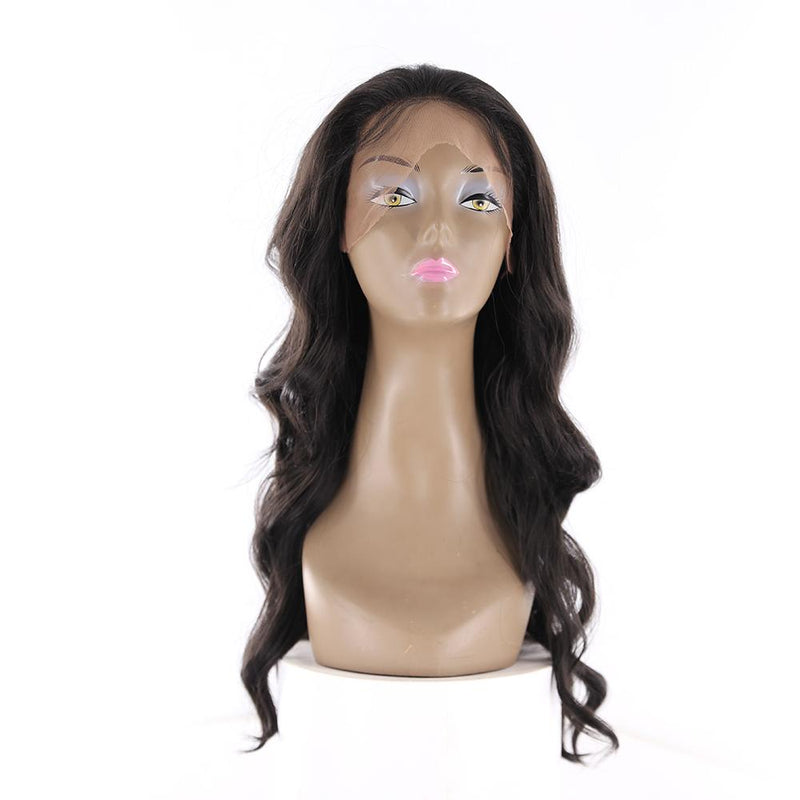 "HTF 4""x13""lace front 1# body wave wig 20""-23"""
