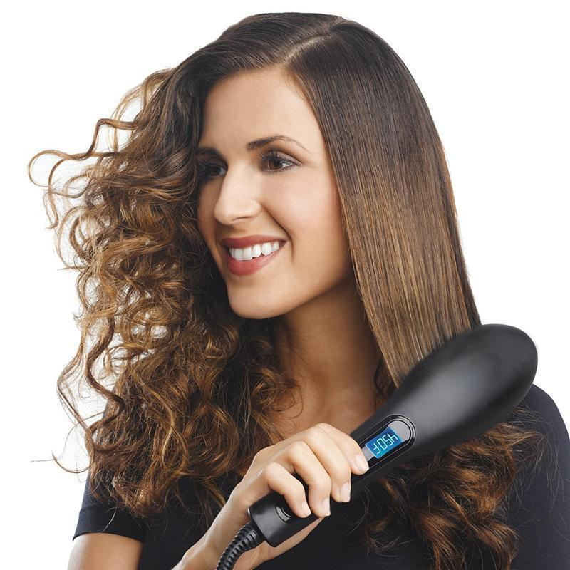 (50% OFF) Two-in-one Instant Straight Hair Brush