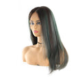 "HTF 4""x13""lace front R3438 straight wig 23""-25"""