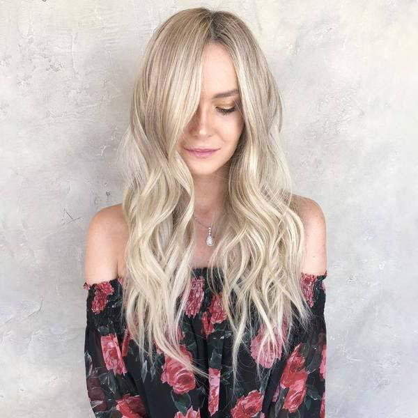 2019 NEW BLONDE WAVE WIGS