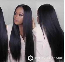 "Naturally 360 Wig(Malaysian Hair)— ""Black /Light brown/Dark Brown""140%(Extra Thick As In Video)"