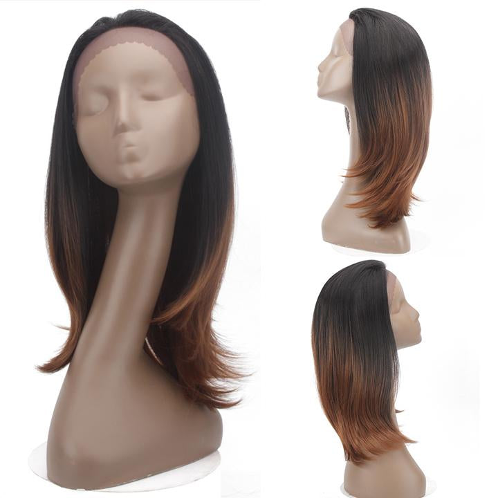 HTF 1.5*13.5 Lace front TT2/30 straight wig 18〃