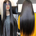 220% Density 26inches Long 360 Lace Wig Pre Plucked——( Body Wave / Straight)