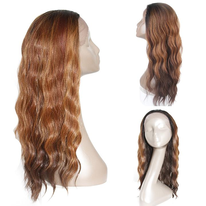 HTF 1.5*13.5 Lace front OP27 body wave wig 22〃