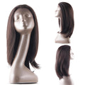 HTF 1.5*13.5 Lace front 4# straight wig 18〃