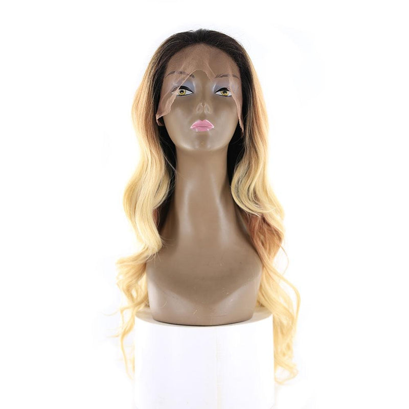 "HTF 4""x13""lace front R3437 body wave wig 20""-23"""