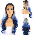 "HTF 4""x13""lace front R3440 body wave wig 24"""