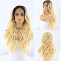 "HTF 4""x13""lace front DR613 body wave wig 23""-25"""