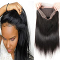 1Pc Pre Plucked 360 Lace Frontal——( Body Wave / Straight / Deep Wave / Big Curl)