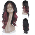 HTF invisible skin+Lace HL530 body wave wig 25〃