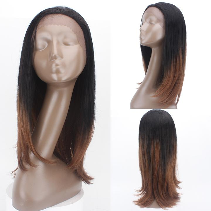 HTF 1.5*13.5 Lace front TT2/30 straight wig 20〃