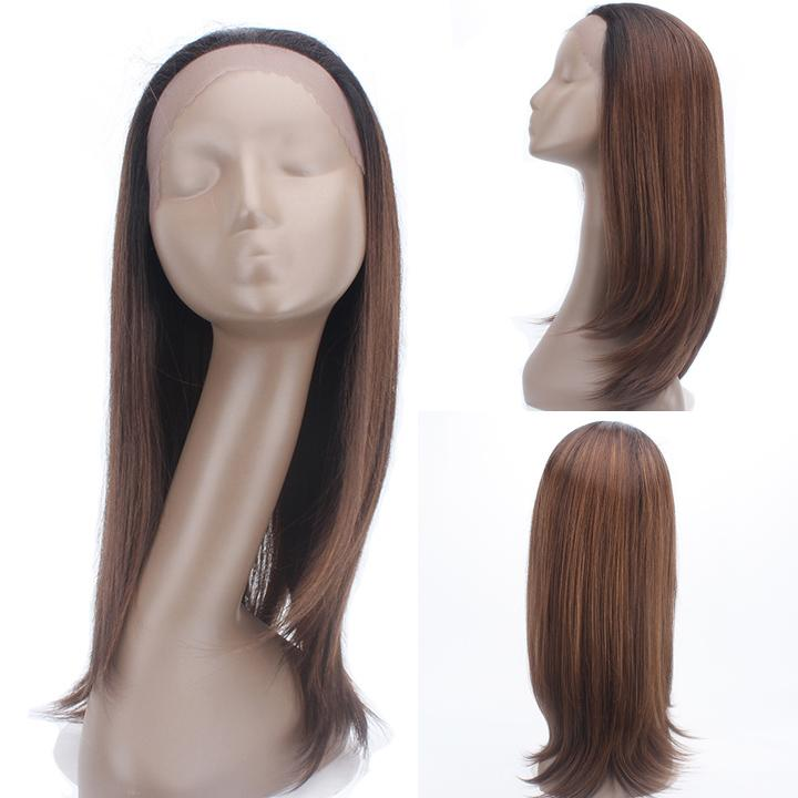 HTF 1.5*13.5 Lace front OP430 straight wig 20〃