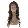 "HTF Lace front 13.5""*1"" body wave 4# wig 18〃"