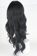 HTF invisible skin+Lace 1B body wave wig 25〃