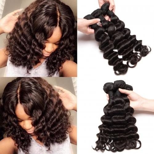 3Pcs Best Virgin Hair Bundles All Textures——Body Wave/Water Wave/Straight/Deep Wave/Big Curl