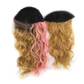 "HTF Middle part4""x1x1cm+Split mesh cap S2/27/D.ROSE wig 22"""