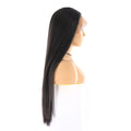 "HTF part4""x1cm ear to ear 1B straight wig 26"""