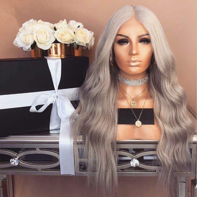 platinum bob wave Wig—140%(EXTRA THICK AS IN VIDEO)