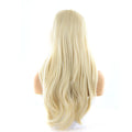 HTF cross lace(wide1.1cm+lace front1.5cm) 613 body wave wig 17""