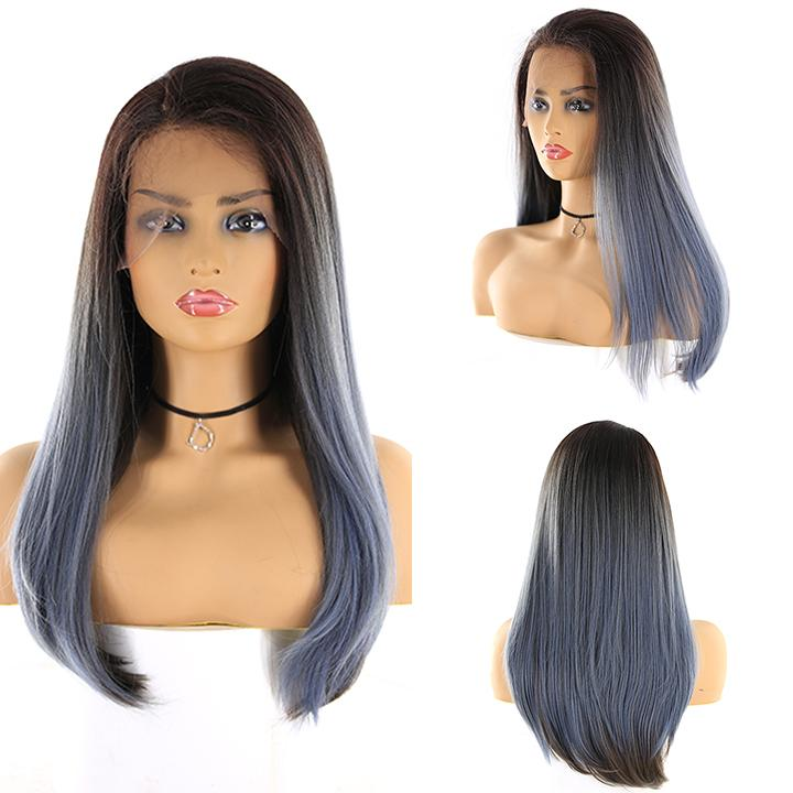 "HTF 4""x13""lace front R3454 straight wig 23""-25"""