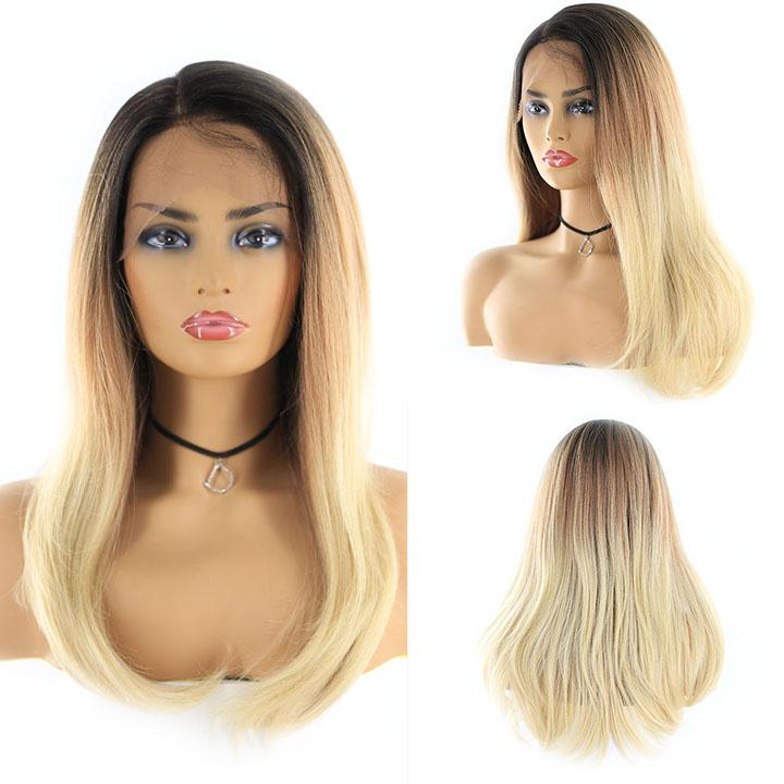 "HTF 4""x13""lace front R3437 straight wig 23""-25"""