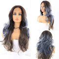 "HTF 4""x13""lace front R3454 body wave wig 23""-25"""
