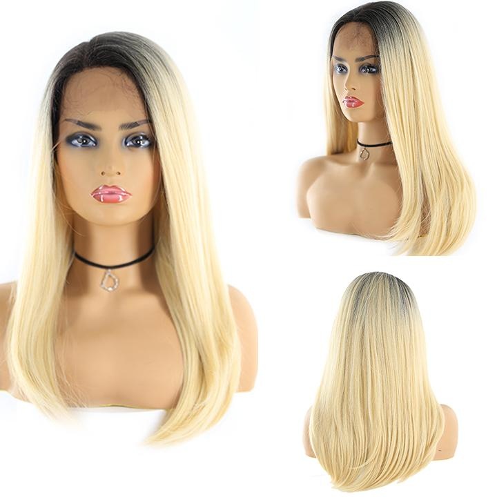 "HTF 4""x13""lace front DR613 straight wig 23""-25"""