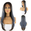"HTF 4""x13""lace front R3454 straight wig 24""-25"""