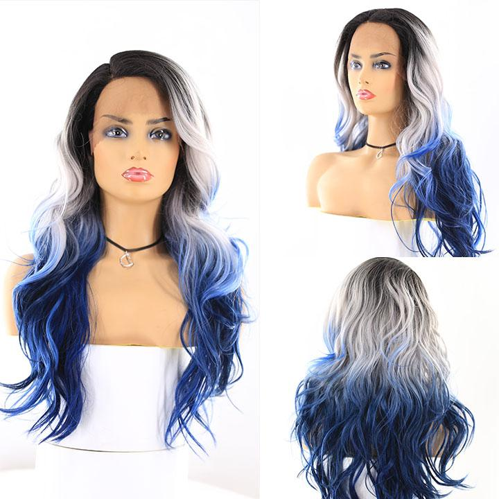 "HTF 4""x13""lace front R3440 body wave wig 23""-25"""