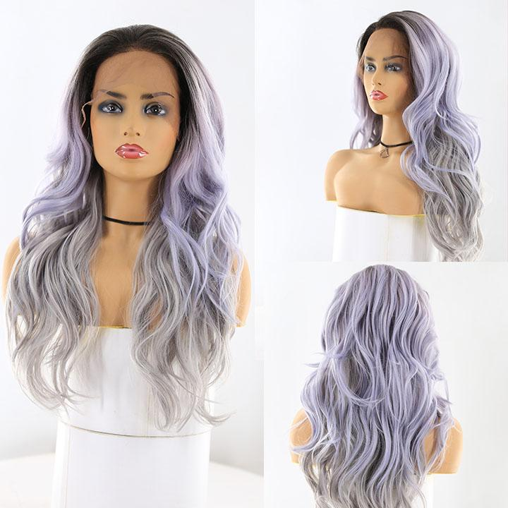 "HTF 4""x13""lace front TTR3441 body wave wig 23""-25"""