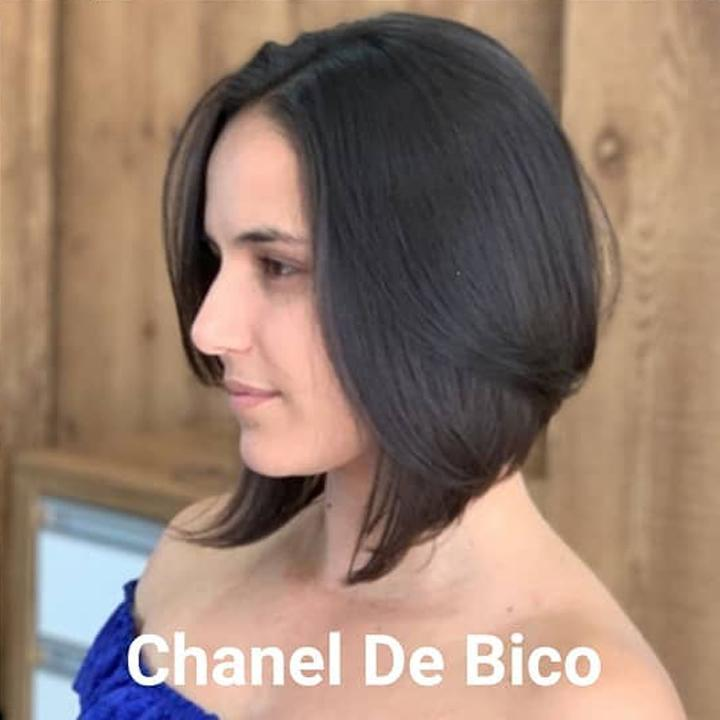 Black Friday Chanel de vico black bob wig