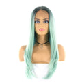 "HTF 4""x13""lace front R3431 straight wig 24""-25"""