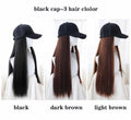 2020 WIG HAT ONE-PIECE LONG HAIR