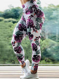 Fashion Push Up Printed Yoga Pants