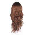 HTF invisible skin+Lace DR30 body wave wig 25〃
