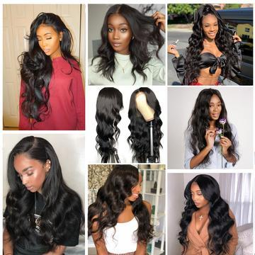 Affordable Best Virgin Hair 6x13 Front Lace Wig——(Body Wave / Water Wave / Deep Wave / Straight)