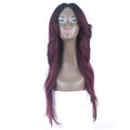 HTF invisible skin+Lace DRBG body wave wig 26〃