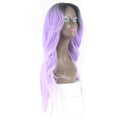 HTF invisible skin+Lace DXR2/WPU body wave wig 26〃