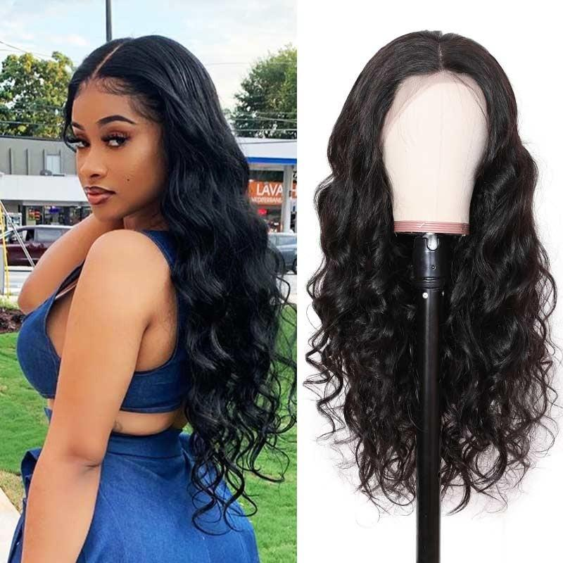 Undetectable Lace Body Wave Best Virgin Hair Full Lace Wig