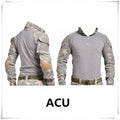 Combat Shirt With Elbow Pads (6 colors)