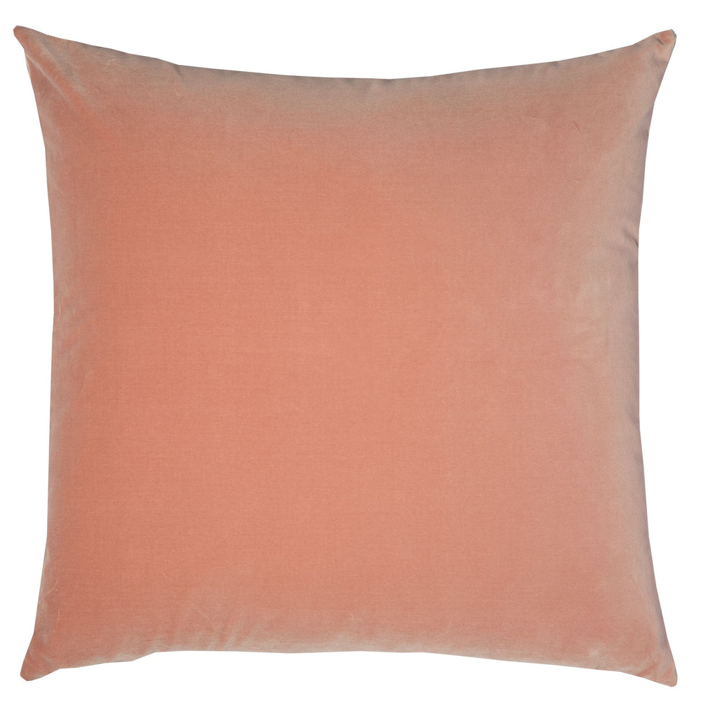 Double Sided Velvet cushion - Baby Doll & Pale Pink