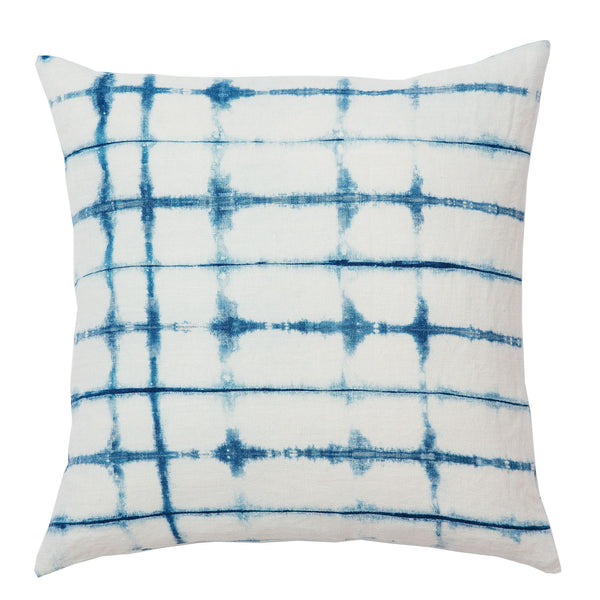 Fishbone Shibori Cushion