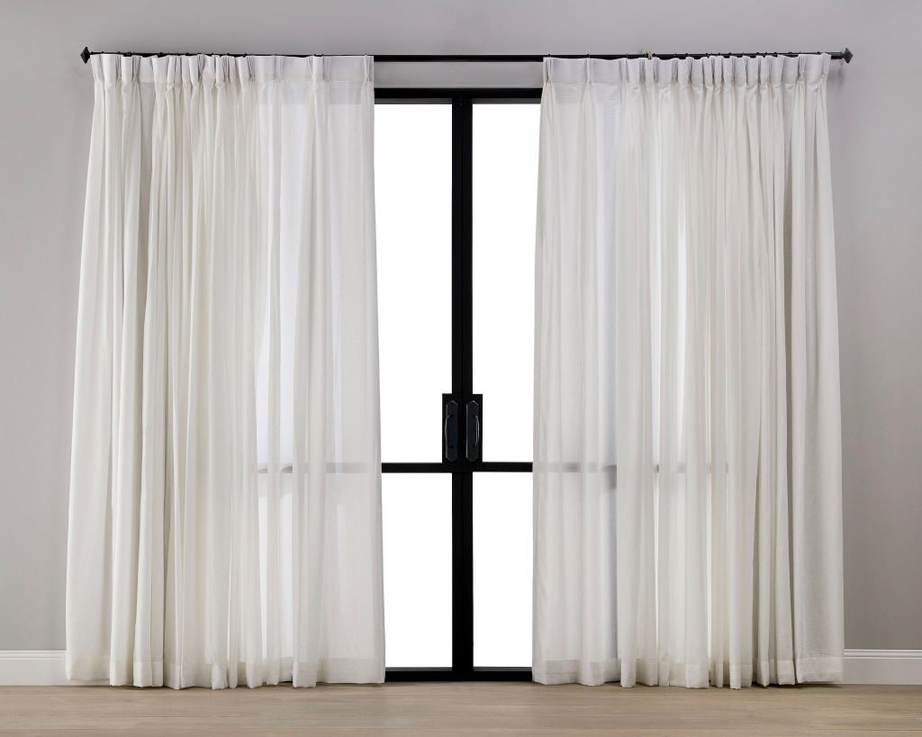 Snow White Sheer Curtain