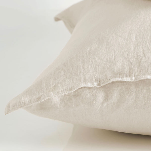 Pure linen European Pillow Case - Sand